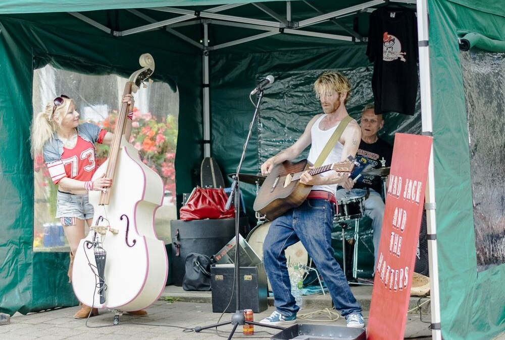 Festival Buskers for the 2018 Event