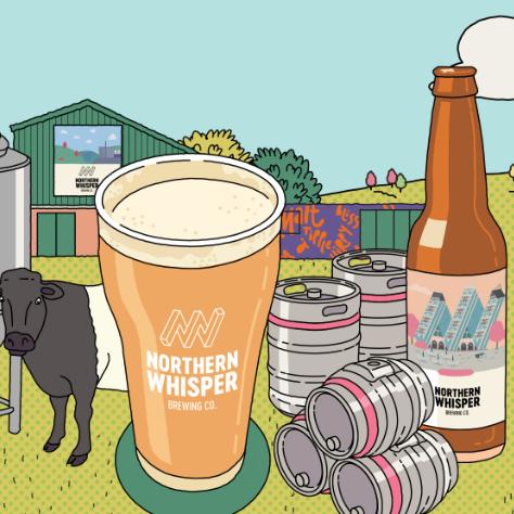 Rhythm & Booze – Festival Beer via Northern Whisper Brewing Company