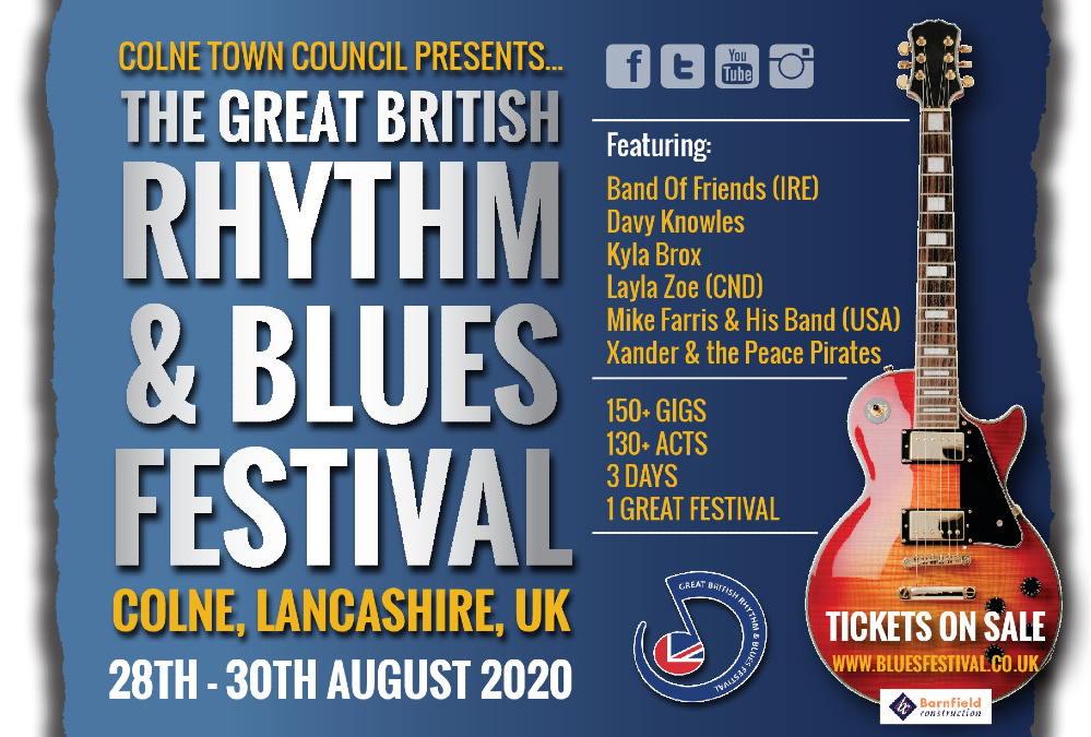 Huge Successes For The 2019 Colne Blues Festival