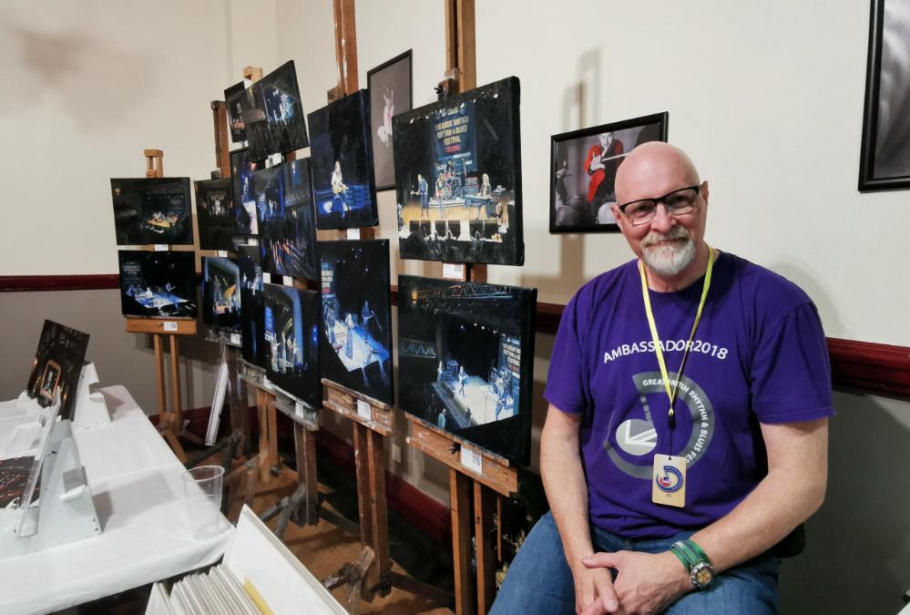 Meet Our Artist In Residence – Pete Marsh